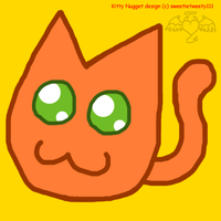 Kitty Nugget :3 by sweetietweety111