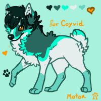 Character Design for Coyvid by Motok