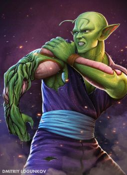 Piccolo regenerating by Logunkov