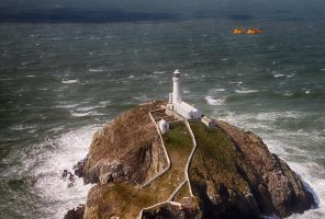 South Stack Lighthouse by CharmingPhotography