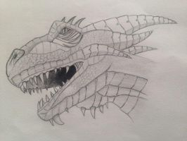 Mark Crilley dragon tutorial by rukster123