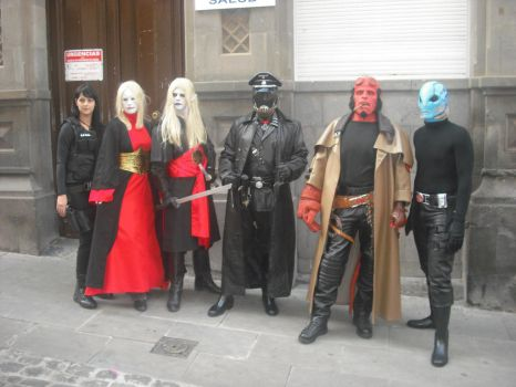 Hellboy group by Lord-Stark