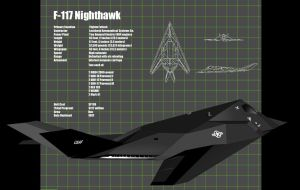 F-117 Nighthawk by MobileSuitGio