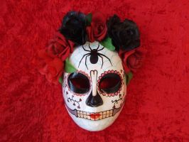 Day of the dead mask A3 by bjnivk