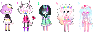 Pastel Creeps | Cloooosed by Pocky-Babe