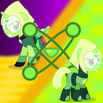 Crystal Gems - Peridot by Trail-Grazer