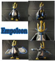 Weekly Sculpture: Empoleon by ClayPita