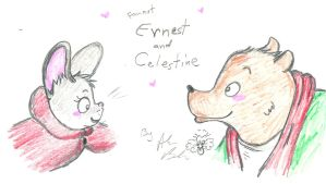 Ernest and Celestine by Kittychan2005