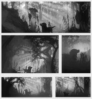 forest value study by Remidubois