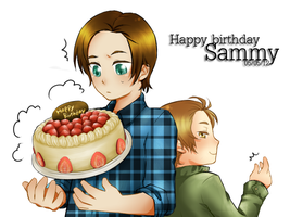 Happy Birthday Sammy by ILsama