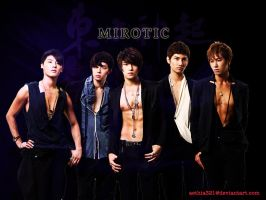 TVXQ: Mirotic by aethia321