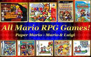 All Mario RPG Games! Wallpaper 1440x900 by Baruch97