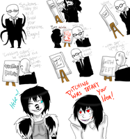 Jeff The Killer and Laughing Jack-Comic #5. by MikaelBratLoni