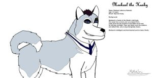 Meekael the Husky (Concept) by MiMaEn
