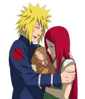 Naruto's Family - Lineart colored by DennisStelly