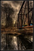 Abandoned Bridge 2 by Keith-D