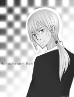 Monochrome Man Request by sillysailors