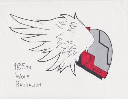 105th Wolf Battalion by sandrock62