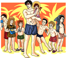 Will Graham Family AU by LucLeon