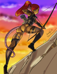 [collab] Assassins at Sunset by ArawnNox