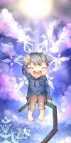 Jack Frost bookmark by Lumiscene
