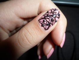 Pink Nailart by xRixt