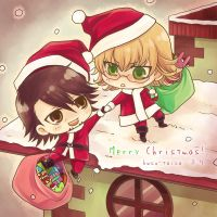 Merry Xmas from Tiger and Bunny by kuso-taisa