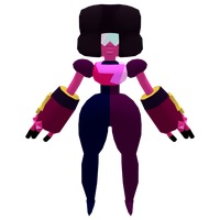 3D Model of Garnet with Texture (Steven Universe) by Janku-Roketto