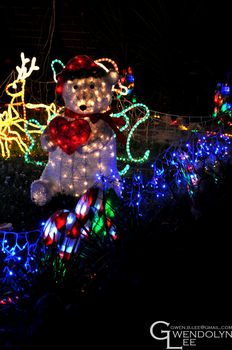 Christmas Lights 30 by GwendolynLee