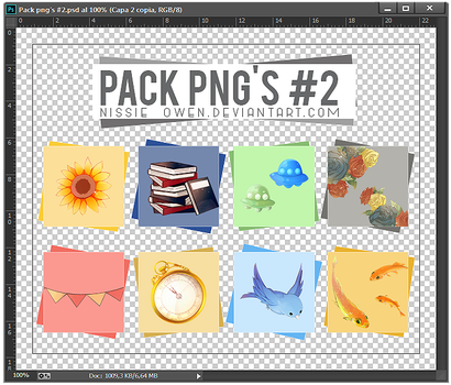 Pack PNG #2 by Nissie-Owen