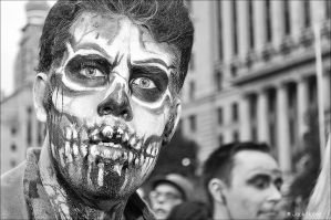 Up Close Zombie by Jack-Nobre