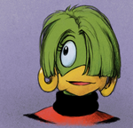 Tekno the Canary, Sonic the Comic fanart by Hewison