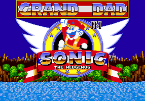 Grand Dad in Sonic the Hedgehog by EXEcutor-The-Bat