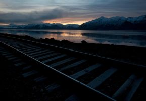 AK Railroad Tracks by jamezevanz