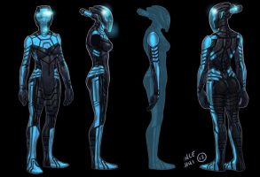 Polara Concept art 5 (face) by kidchuckle