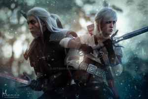 -Forever Ciri - The Witcher 3 by AstronSama