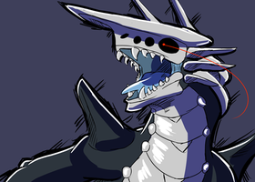 Aggron Doodle by Tutyr