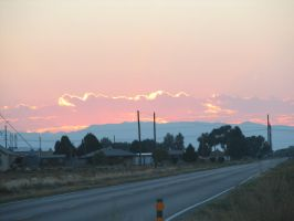 Sunset from HWY50 by MarMicheal