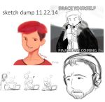 Sketchdump112214 by pomites