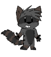 Scooter the Racoon by PandaTJ