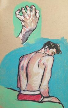 hand and dude by cableclair