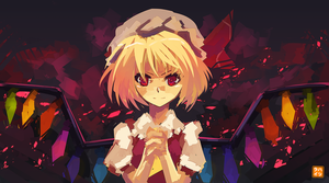Speedpainting: Flandre [+video] by Hatsuraikun
