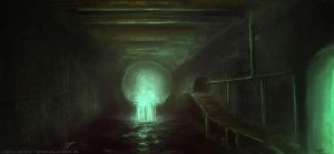 Underground Sewer by AbstractLuva