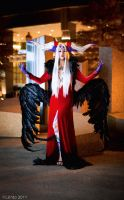 AUSA: I am Ultimecia by burloire