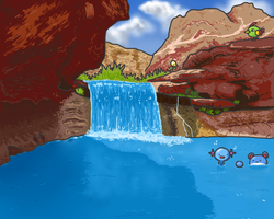 Swimming Hole by PastYourBedtime