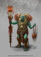 Orc Shaman by JaredDennis