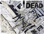 Daryl Dixon and Beth Sketch Cover by bphudson