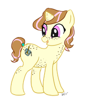 My Little OC, Buttermilk by BleachedKitten
