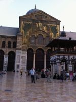 Umayyad mosque 3 by calligrafer