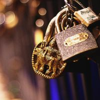 Hindu Padlock of Love - 365 project, Day 11 by LesEssences